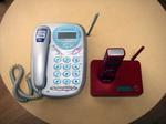 旧電話機と新電話機